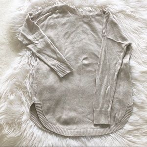 Old Navy Sweaters - Old Navy long cream sweater